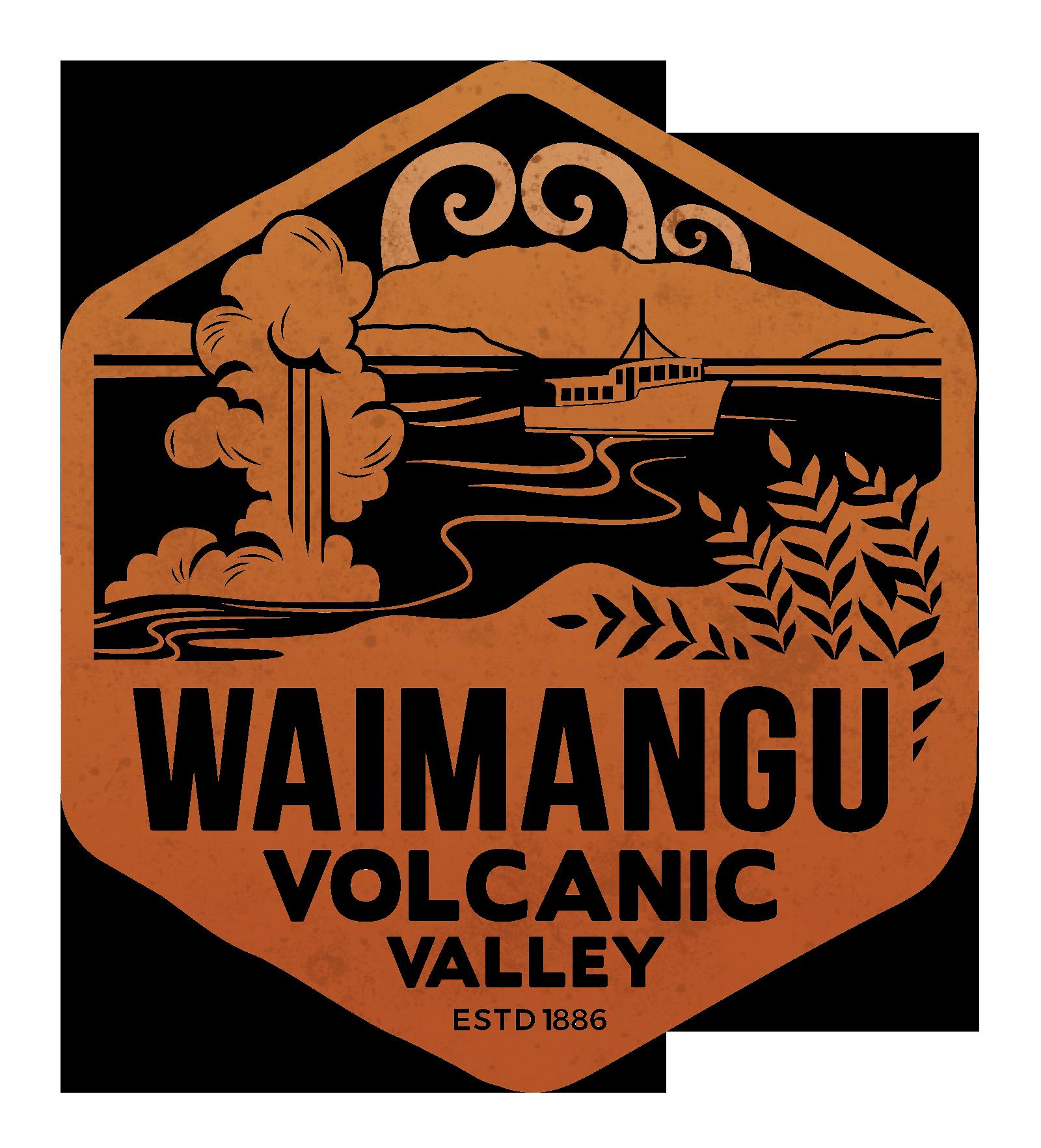 Waimangu Volcanic Valley Logo