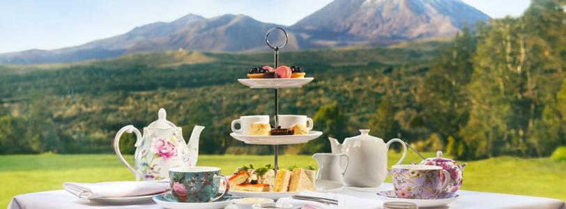Chateau Tongariro High Tea