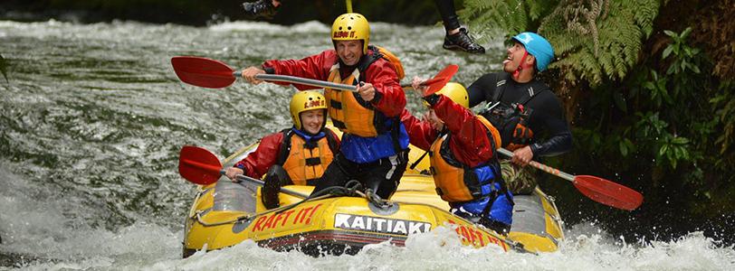 Kaitiaki Rafting Rotorua